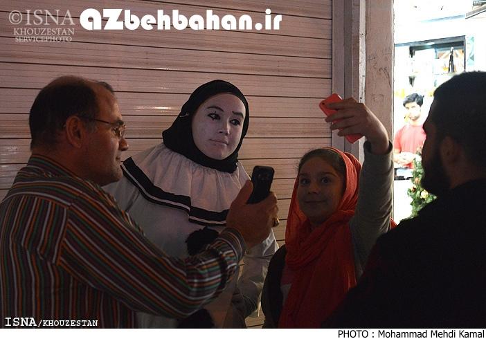 صربستان دختر جهانگرد اهواز