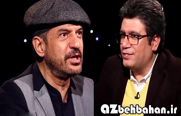 محمود شهریاری با کلاه دید در شب
