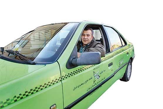 راننده تاکسی تحصیل کرده